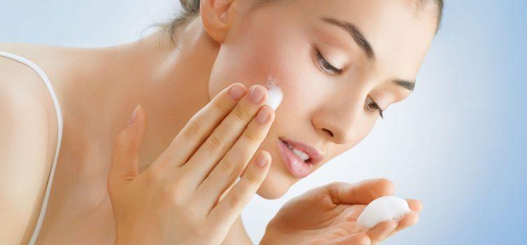 Empfindliche Haut reinigen
