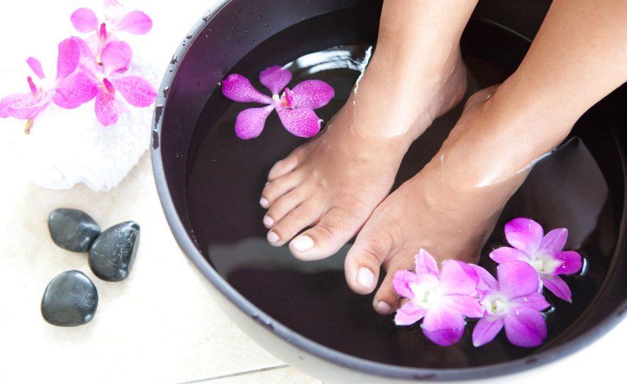 Der Kühleffekt für strapazierte Füße