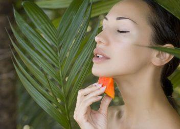 Vitaminpflege in der Kosmetik -  ganz schön gesund