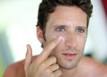 Augencremes für Männer